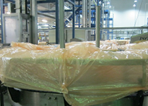 Hall dust covers over conveyors